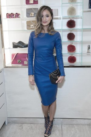 Jamie Chung attends the Furla One Year Anniversary Party