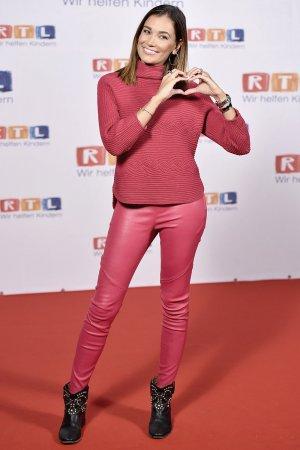 Jana Ina Zarrella attends RTL Spendenmarathon 2017