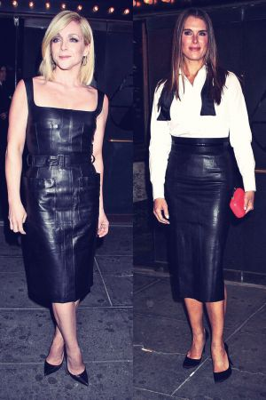 Jane Krakowski & Brooke Shields attends opening night performance of the Broadway revival of Cabaret