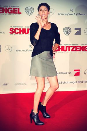 Jasmin Gerat at premiere Schutzengel