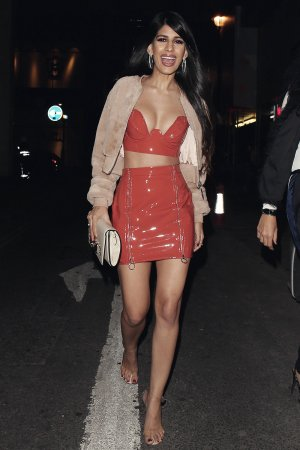 Jasmin Walia attends Sixty6 Magazine Party