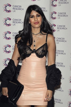 Jasmin Walia attends the Jog on for Cancer event