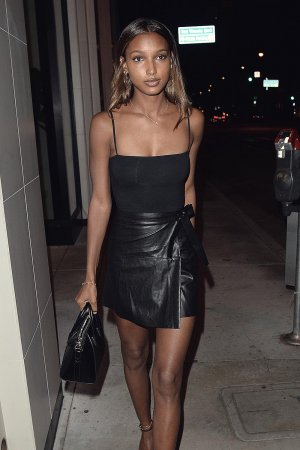Jasmine Tookes seen out to Dinner
