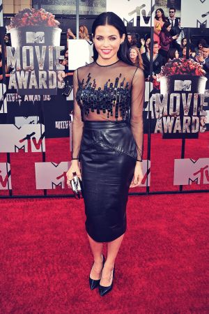 Jenna Dewan-Tatum attends 2014 MTV Movie Awards