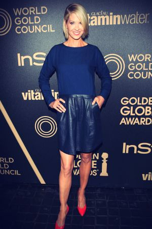 Jenna Elfman at HFPA & InStyle Miss Golden Globe Party