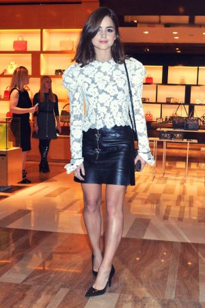 Jenna Louise Coleman attends BAFTA