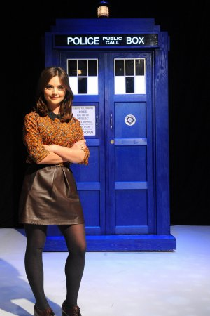 Jenna Louise Coleman - Doctor Who xmas