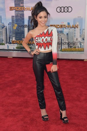 Jenna Ortega attends Spider-Man Homecoming Premiere