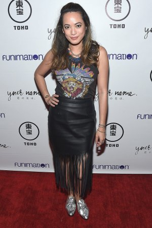 Jennalee Reyes attends Funimation Films presents 'Your Name.' Theatrical Premiere