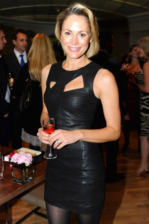 Jenni Falconer at Fragrance Launch