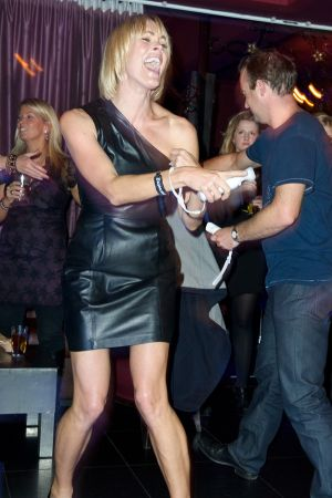Jenni Falconer at Just Dance 2 VG Launch 2010