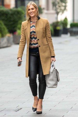 Jenni Falconer seen at Smooth Radio show in London