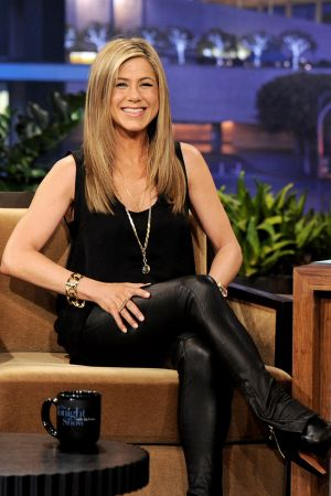Jennifer Aniston at Tonight Show with Jay Leno