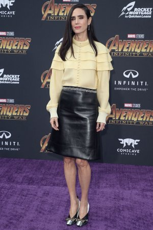 Jennifer Connelly attends Avengers: Infinity War Premiere