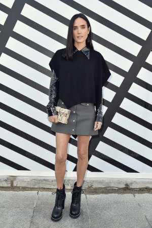 Jennifer Connelly attends the Louis Vuitton show