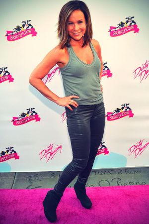 Jennifer Grey arrives at the 25th Anniversary Of Lionsgate's Dirty Dancing