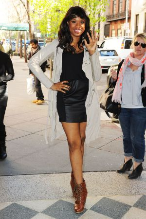 Jennifer Hudson out and about in NYC