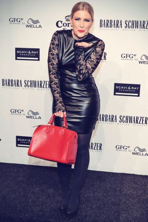 Jennifer Knable attends Barbara Schwarzer Fashion Show