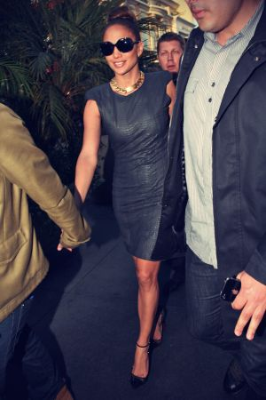 Jennifer Lopez Arrive at Planet Dailies and Mixology 101
