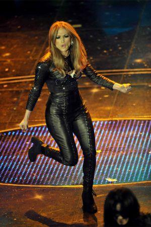 Jennifer Lopez at Festival di Sanremo Italian song contest in San Remo