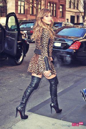 Jennifer Lopez at Good Morning America