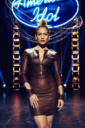 Jennifer Lopez at the American Idol Hollywood Week auditions
