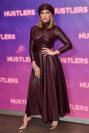 Jennifer Lopez attends STX Entertainment's Hustlers photocall