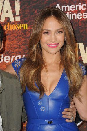Jennifer Lopez attends Univisions TCA panel at The Langham Huntington