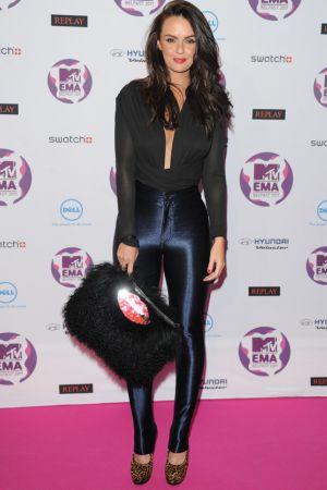 Jennifer Metcalfe at MTV Europe Music Awards 2011