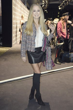 Jenny Elvers attends Riani Fashion Show - Berlin Fashion Week