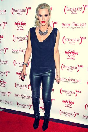 Jenny McCarthy at the Body English nightclub