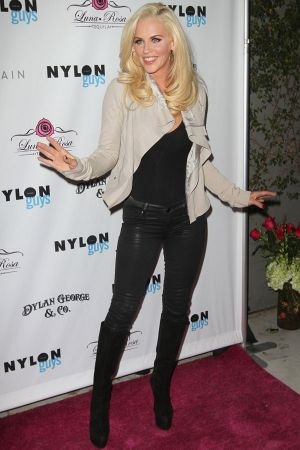 Jenny McCarthy attends The Nylon Magazine Guys Cover Issue Party