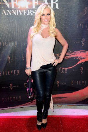 Jenny McCarthy hosting the E11even One-Year Anniversary Party