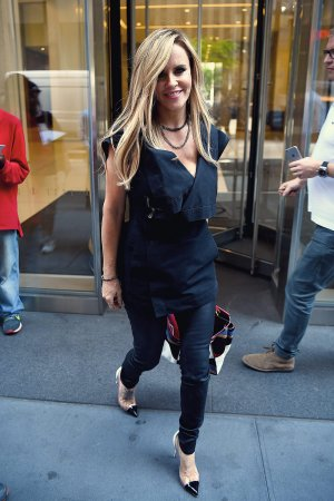 Jenny McCarthy seen in Midtown NYC