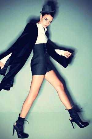 Jenny Rei in Harper's Bazaar India Nov 2012