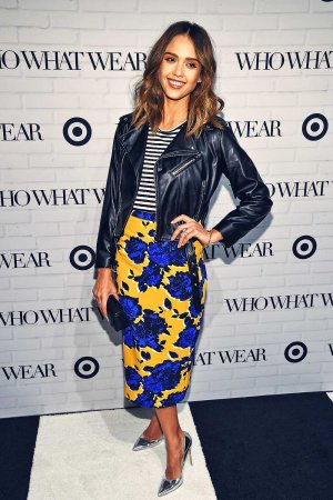 Jessica Alba attends Who What Wear x Target launch party