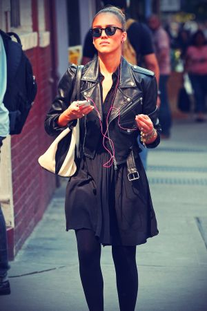 Jessica Alba out for a stroll in NYC