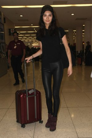 Jessica Barta at LAX Airport