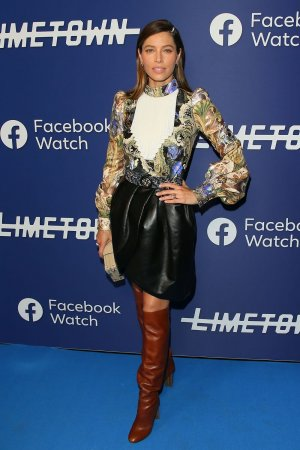 Jessica Biel attends Photocall for Facebook Watch's 'Limetown'