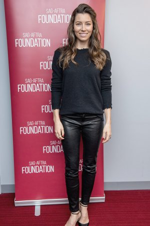 Jessica Biel attends SAG-AFTRA Foundation Conversations