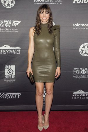 Jessica Biel attends the New Orleans Premiere of The Book of Love