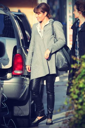 Jessica Biel out and about in Soho