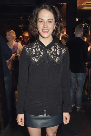 Jessica Brown Findlay attends the press night after party for '1984'