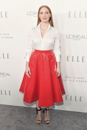 Jessica Chastain attends ELLE's 24th Annual Women