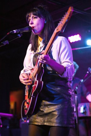 Jessica Dobson of Deep Sea Diver performs at The Underground