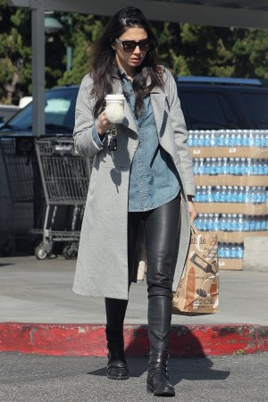 Jessica Gomes shopping at Bristol Farms