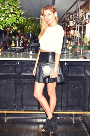 Jessica Hart at Refinery29, CFDA & Neiman Marcus Celebrate Tabitha Simmons