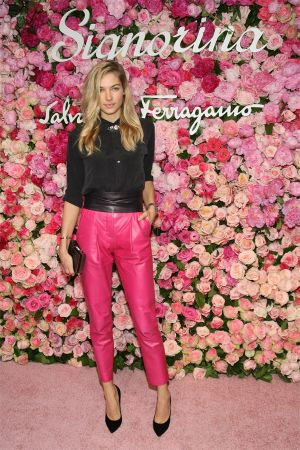 Jessica Hart at Salvatore Ferragamo Celebrates The Launch Of Signorina