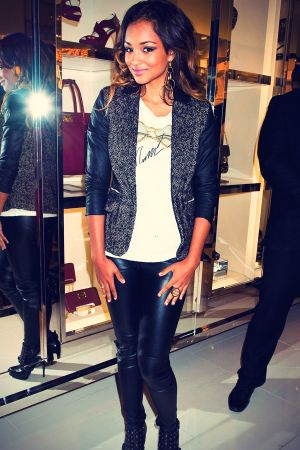 Jessica Jarrell attend a 2012 Fashion's Night Out