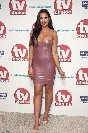 Jessica Shears attends TV Choice Awards